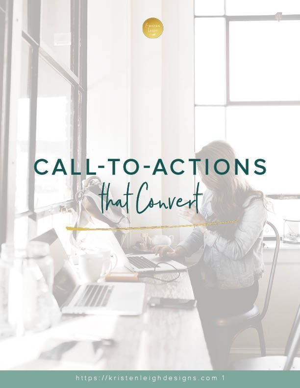 Kristen Leigh | WordPress Web Design Studio | Call-to-Actions that Convert