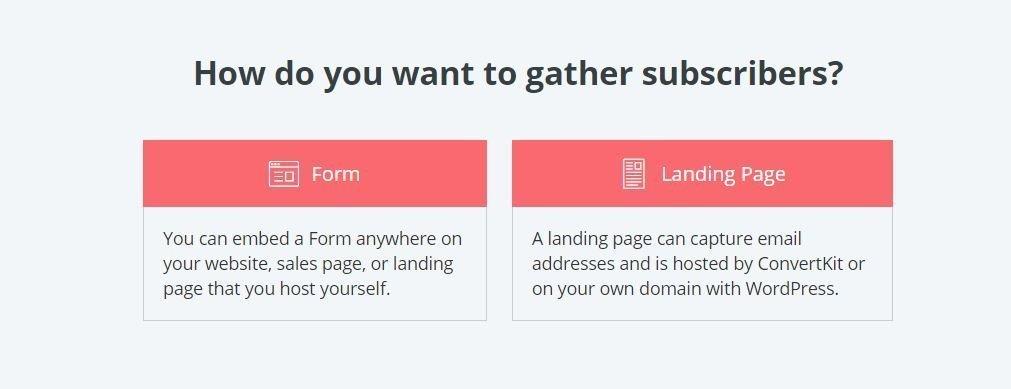 Kristen Leigh | WordPress Web Design Studio | ConvertKit Form Step 2 Click Form