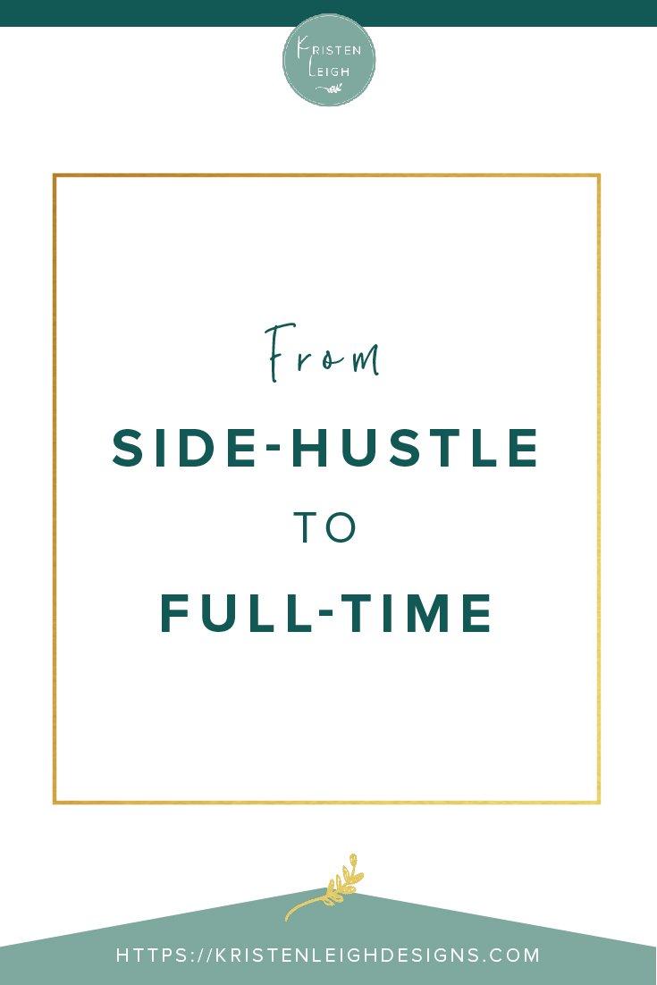 Kristen Leigh | WordPress Web Design Studio | From Side-Hustle to Full-Time