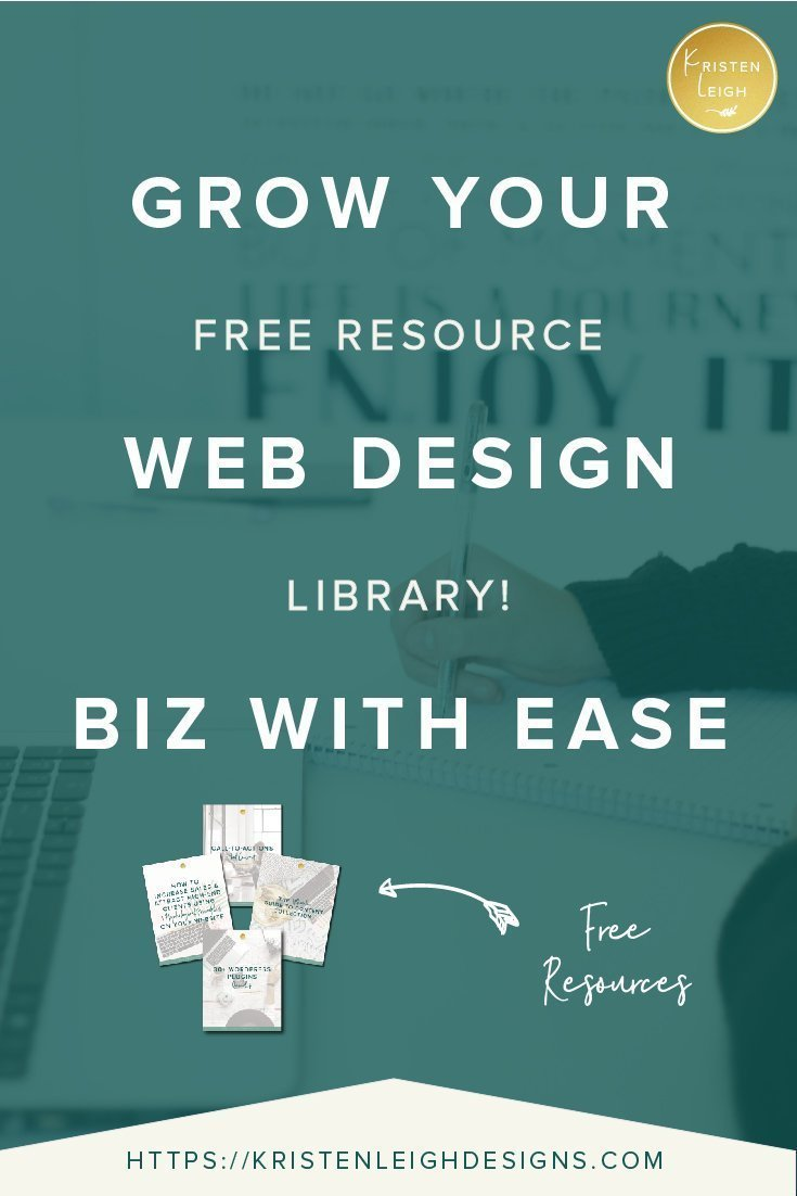 Kristen Leigh | WordPress Web Design Studio | Grow Your Web Design Biz with Ease Free Resource Library