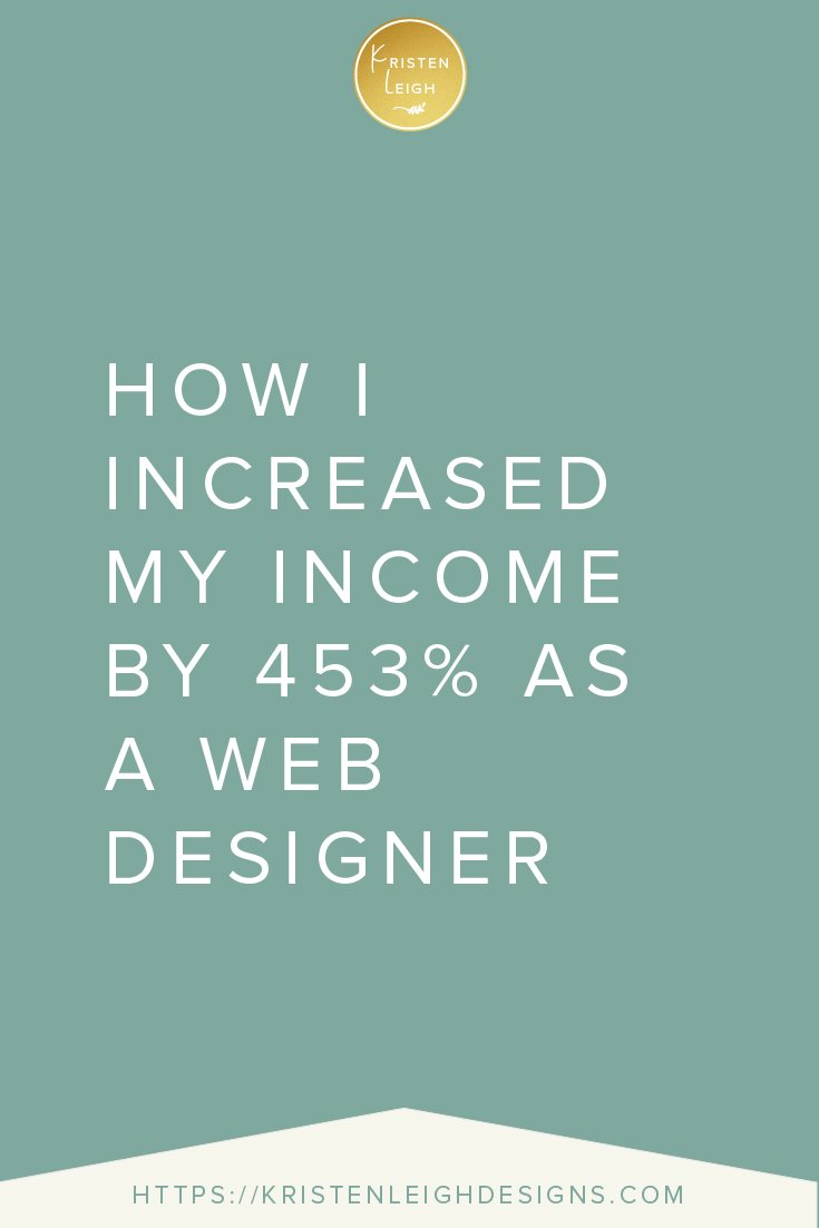 Kristen Leigh | WordPress Web Design Studio | How I Increased My Income by 453% as a Web Designer