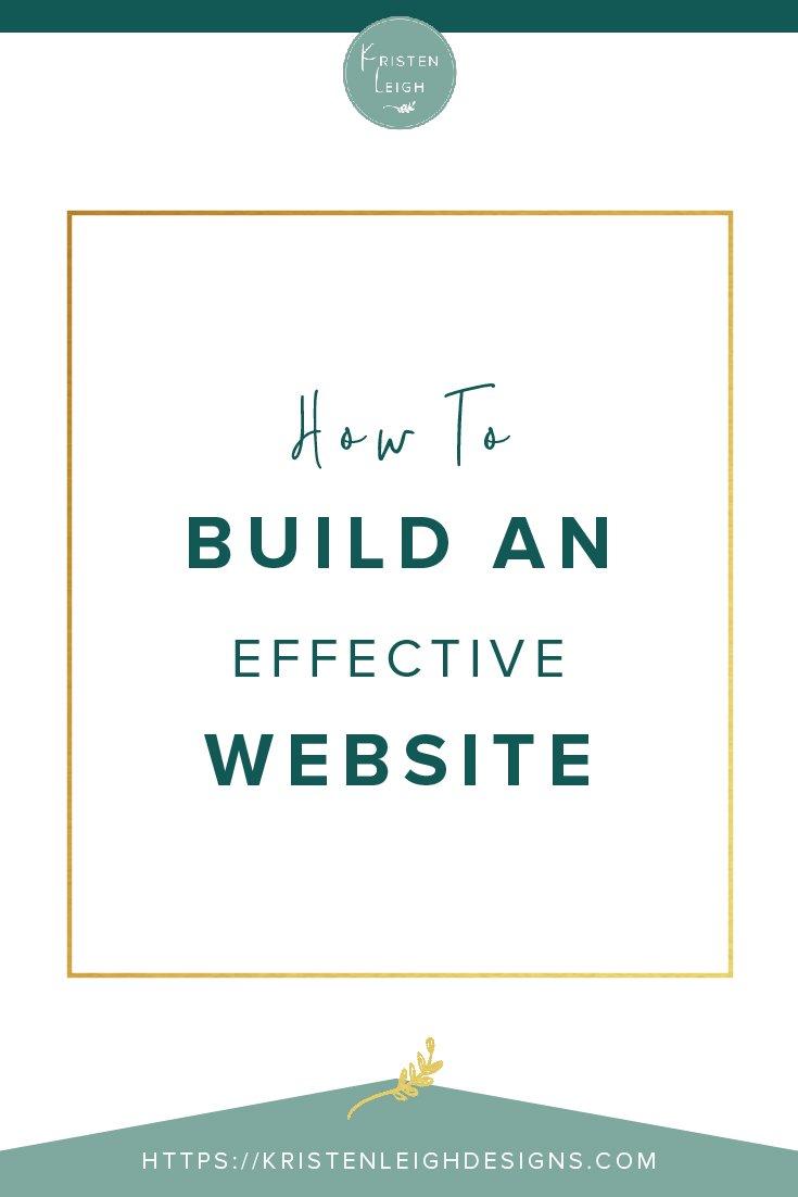 Kristen Leigh | WordPress Web Design Studio | How to Build an Effective Website