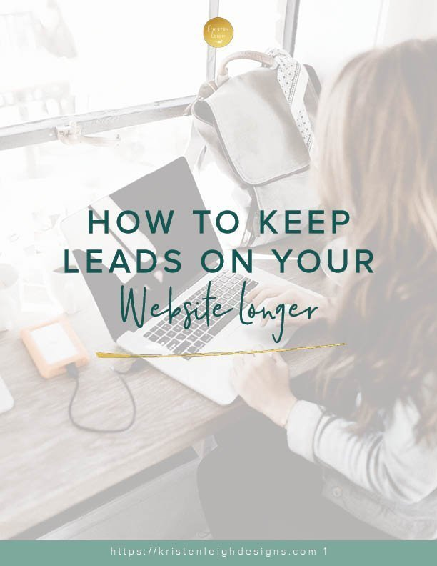 How to Keep Leads on Your Website Longer