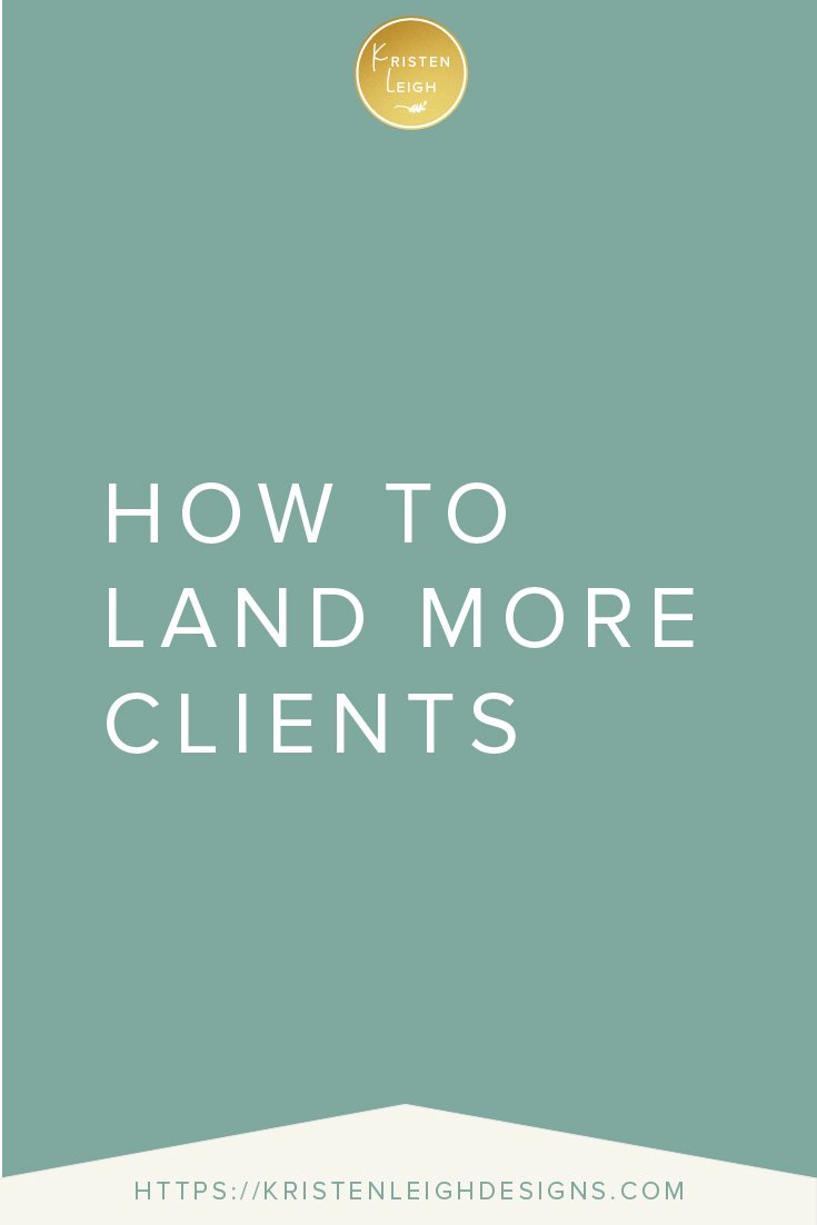 Kristen Leigh | WordPress Web Design Studio | How to Land More Clients