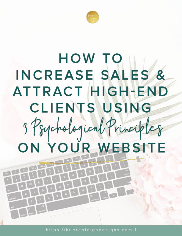 Kristen Leigh | WordPress Web Design Studio | Increase Sales & Attract High End Clients