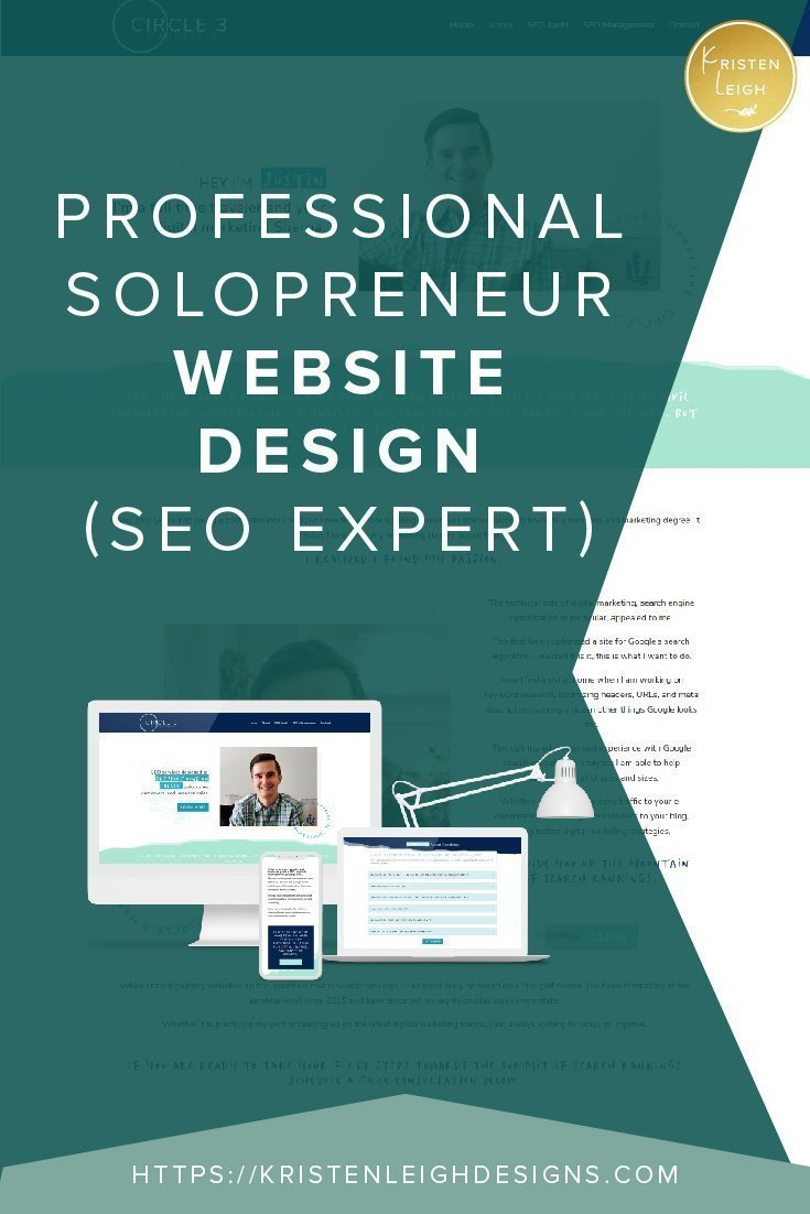 Kristen Leigh | WordPress Web Design Studio | Professional Solopreneur Website Design SEO Expert