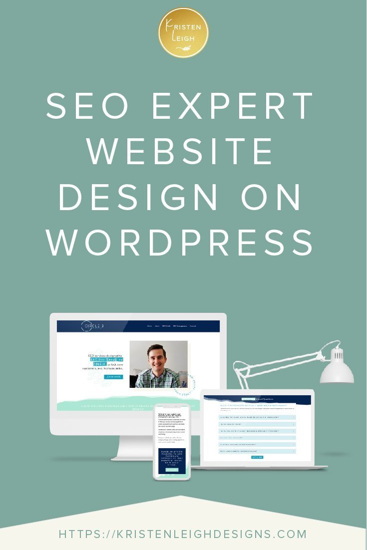 Kristen Leigh | WordPress Web Design Studio | SEO Expert Website Design on WordPress