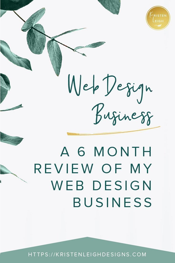 Kristen Leigh | WordPress Web Design Studio | April 2019 Recap of My WordPress Web Design Business