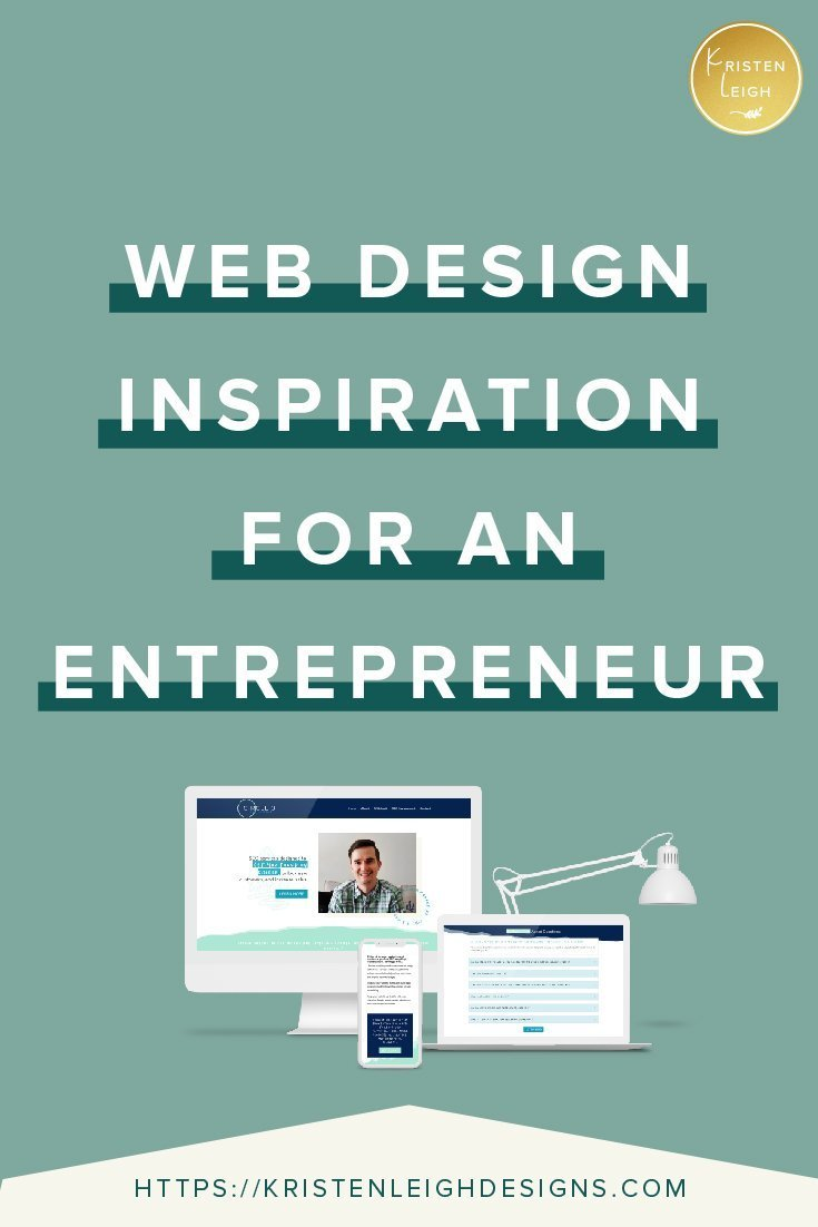 Kristen Leigh | WordPress Web Design Studio | Web Design Inspiration for an Entrepreneur