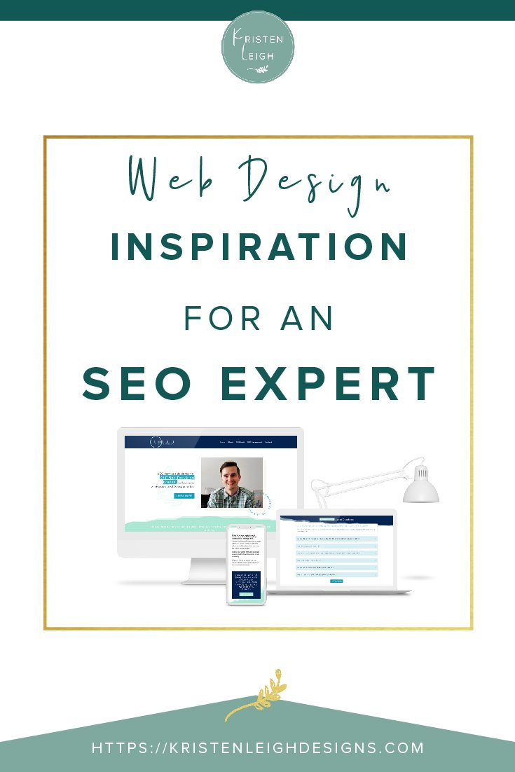 Kristen Leigh | WordPress Web Design Studio | Web Design Inspiration for an SEO Expert