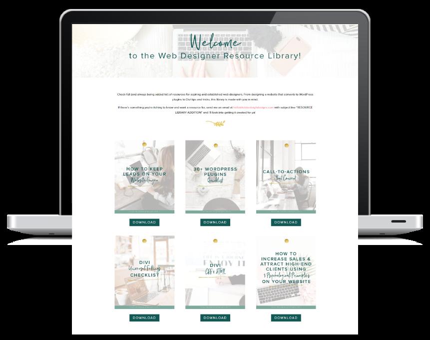 Kristen Leigh | WordPress Web Design Studio | Web Designer Resource Library