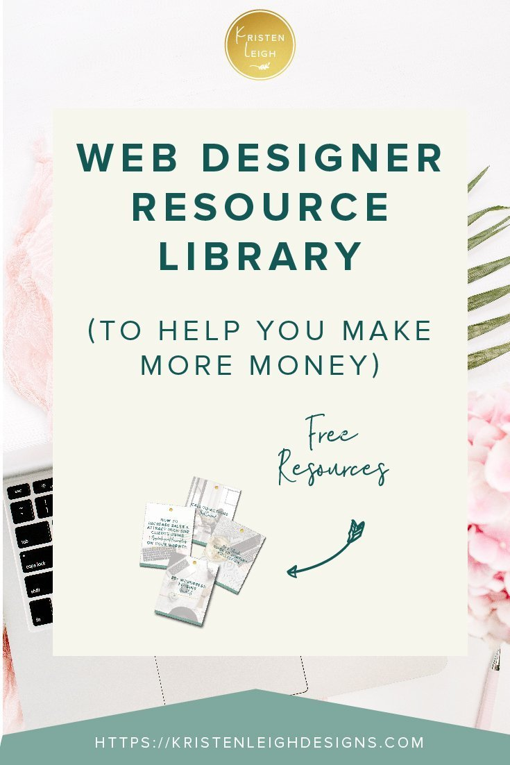 Kristen Leigh | WordPress Web Design Studio | Web Designer Resource Library To Help You Make More Money