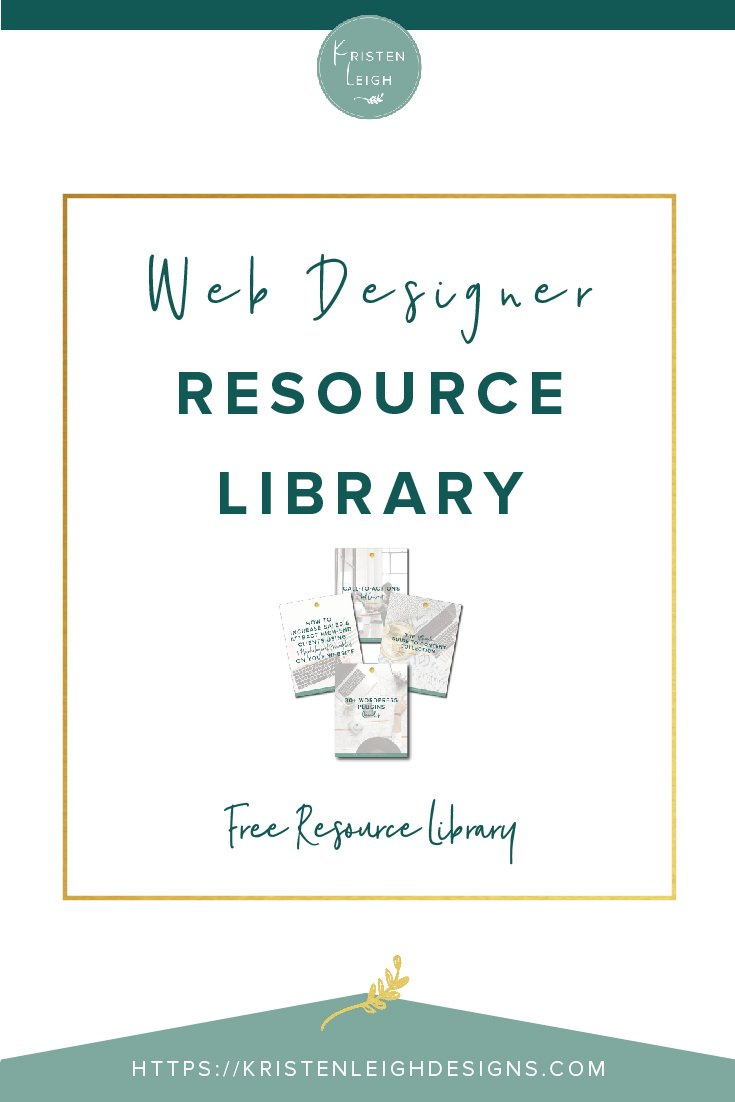 Kristen Leigh | WordPress Web Design Studio | Web Designer Resource Library