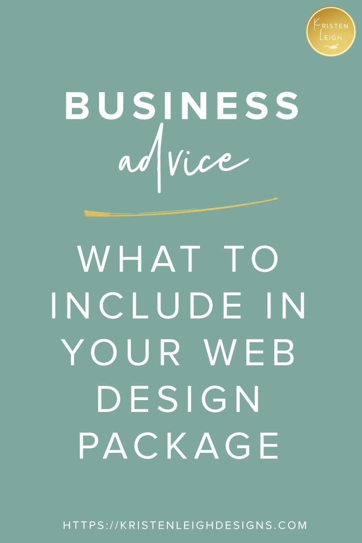 Kristen Leigh | WordPress Web Design Studio | Web Design Business Advice: What to Include in Your Web Design Package + Why I Added SEO and Copywriting to my Web Design Package