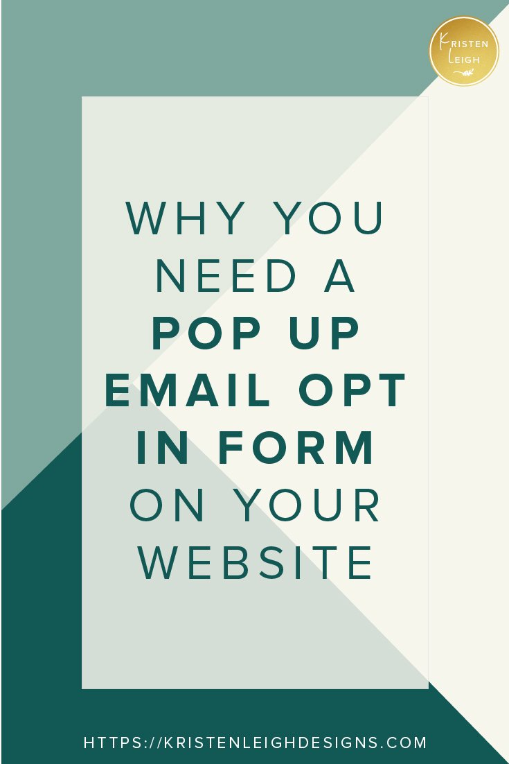 Kristen Leigh | WordPress Web Design Studio | 2 Things Every Page on Your Website Must Do to Land Clients | Grow Your Email List